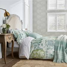 waterperry bedding in mint green