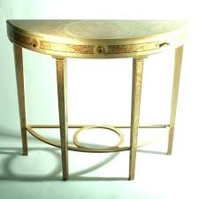 half moon console table uk round entry with drawer hall side t white half moon console table