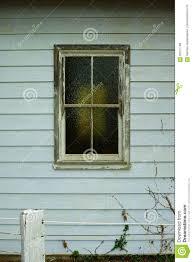Fenster Mit Mattglas Holzrahmen Auf Altbau Stockbild Bild Von