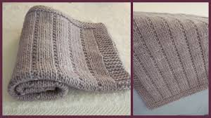 Free Knitting Patterns For Baby Blankets Simple Inspiration Design