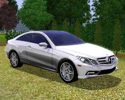 Mod The Sims - 2010 Mercedes-Benz E550 Coupe
