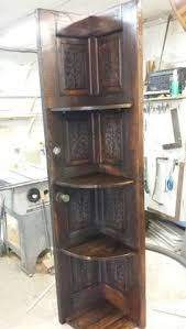 Corner Shelves For Sale Corner shelf made from old door For sale Woodworking by Theresa 1