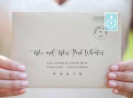 Wedding Address Label Template Elegant Envelope Template Envelope