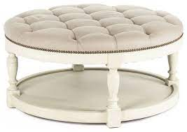 cream ottoman coffee table