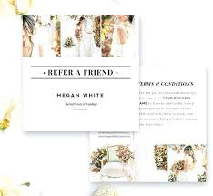 Senior Rep Card Template Photographer Cards Referral Program