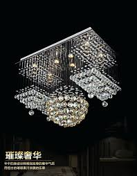 chandeliers new flush mount large modern chandeliers el lobby light rectangular crystal chandelier lighting candice