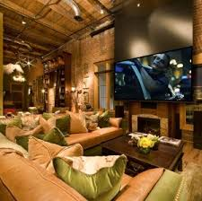 Here Are A Few Tricks Thatu0027ll Give Your Family Room That Home Theater Vibe.