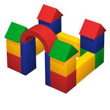 Детский <b>мягкий игровой</b> комплекс Форт от производятеля <b>Romana</b>