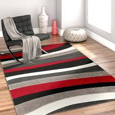 red and black area rug rad wave red gray black area rug red white black area