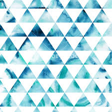 Pattern Impressive Vector Watercolor Triangles Pattern Modern Hipster Pattern