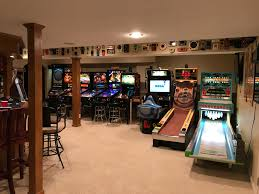 Home game room Poker Please Feel Free To Look Around And Even Better Comment And Post Pictures Of Your Treasures Each Link Above Contains Information About Arcade Restoration Gaming Weekender Petes Gameroom Articles About My Home Gameroom And Arcade