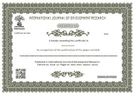Welcome To International Journal Of Development Research (Ijdr ...