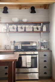 farmhouse style kitchen island for alaska lake cabin