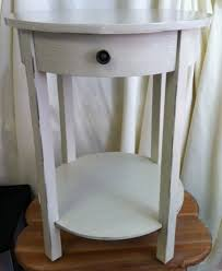 white round end table. White End Table With Drawer | MS Events - Charlottesville\u0027s Wedding And Event Rental Choice! Round W
