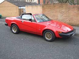 triumph tr on car and classic uk c triumph tr8 1980