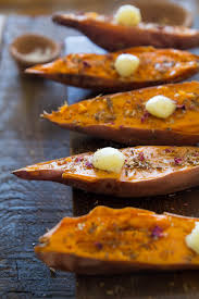 sweet potato recipes indian. Exellent Sweet Indian Spiced Roasted Sweet Potatoes With Ghee Throughout Sweet Potato Recipes