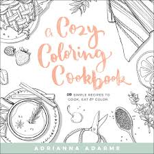 cover sle a cozy coloring cookbook