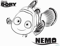 Finding Nemo Coloring Pages Pdf With Nemo Coloring Pages Fresh Nemo