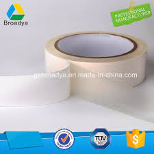 china non woven paper adhesive double sided tissue tape for leather dts512 china tissue tape adhesive tape