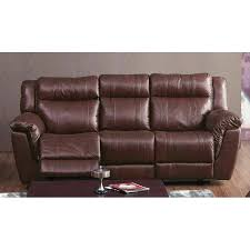 new leather power reclining sofa and loveseat smoke top grain leather power reclining sofa console no