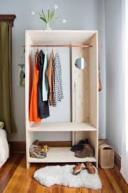modern wooden wardrobe diy bedroom projects 12 diy bedroom projects for the weekend
