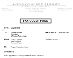 Fax Letter Cover Sheet – Mycola.info