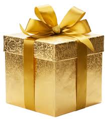Image result for gold gift