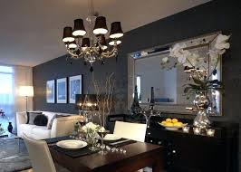large black wall mirror big mirrors full with silver frame of clock large black wall