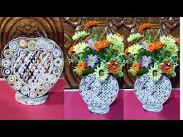 News Paper Flower Vase Videos Matching Newspaper Flower Vase Diy Newspaper Crafts