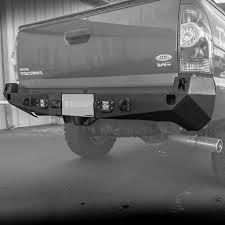 2005-2015 Tacoma Rear Plate Bumper – Relentless Off-Road Fabrication