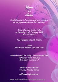 Marriage Invitation Letter Format Pdf Best Of Editable Wedding ...