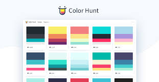 Color Hunt Color Palettes For Designers And Artists