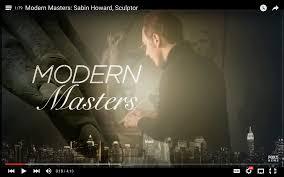 modern masters sabin howard sculptor on fox tv