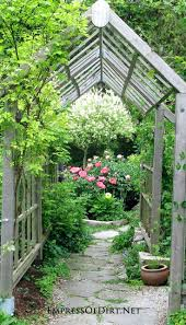 Terrace and Garden: Grape Arbor Backyard Ideas - Grape Arbor Ideas