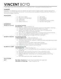 Cleaner Cv Template Cleaner Cv Template Word Aircraft Sample