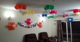simple balloon decoration ideas home quotemykaam world homes