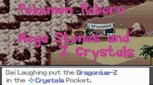 Pokemon Reborn Mega Stones and Z Crystals Ep 17 - YouTube