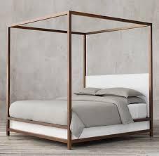modern 4 poster bed. Delighful Modern 109 Best Rh Modern Images On Pinterest 4 Poster Bed To E