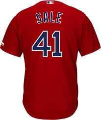 Sale Replica Cool Red 41 Majestic Sox Boston Men's Base Chris Jersey Alternate|How Does The Ref Miss That?