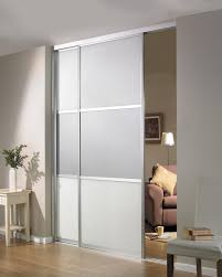 Beautiful Sliding Room Divider Design Idea in Gray with Two Panels ...