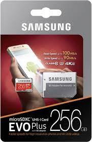 Thẻ nhớ MicroSD 256G SAMSUNG EVO Plus Box Class10 - Vi Tính Phát Đạt -  phatdatcomputer.vn