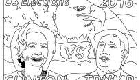 awesome hillary clinton drawing at getdrawings new the hillary clinton coloring book