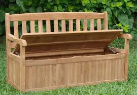 amazing outdoor bench with storage how to make an outdoor storage bench