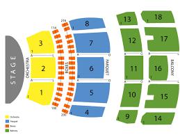 Mahalia Jackson Theatre Seating Chart And Tickets