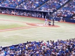 Tropicana Field Section 131 Row Tt Seat 14 Tampa Bay Rays