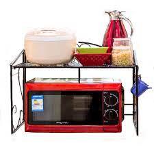 Metal Mikrodalga fırın rafı Fırıncılar Standı/raf Mutfak Krom Raflar Sayacı  ve Dolap Rafı (Bronz) Racks & Holders