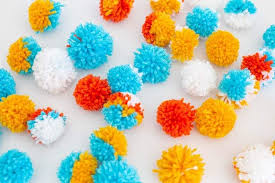 quick and easy pom poms all you need