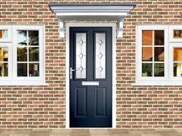 victorian right hand blue posite front door