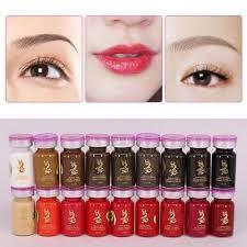 Microblading Semi Permanent <b>Eyebrow Lip Tattoo</b> Makeup Pigment ...
