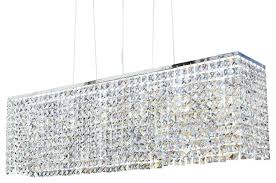 rectangular crystal chandelier gallery closeout retro glass fringe rectangular rectangular crystal chandelier lighting